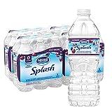Nestle Water Nestle Pure Life Splash Flavored Water, Acai Grape, 16.9 Fl Oz (Pack of 24)