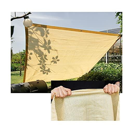 YJFENG Sonnenschutz Segel, Garten Überdachung Schatten Abdeckungen, Balkon Zaun Privatsphäre Bildschirm, Terrasse Party Sonnenschutz Markise Mit Seil, 100 G/M² Polyester