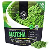 Jade Leaf Organic Matcha Green Tea Powder - Authentic Japanese Origin - Premium...
