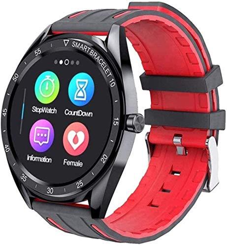 Smart Watch 1 3 pulgadas de alta definición pantalla táctil preciso paso contando impermeable multi-deportivo recordatorio de llamada pulsera deportiva para Android y iOS negro