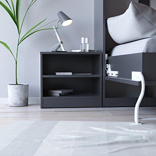 SMARTBett nachtkastje kleurkeuze geschikt voor kastbedden 90-140 modern antraciet grijs