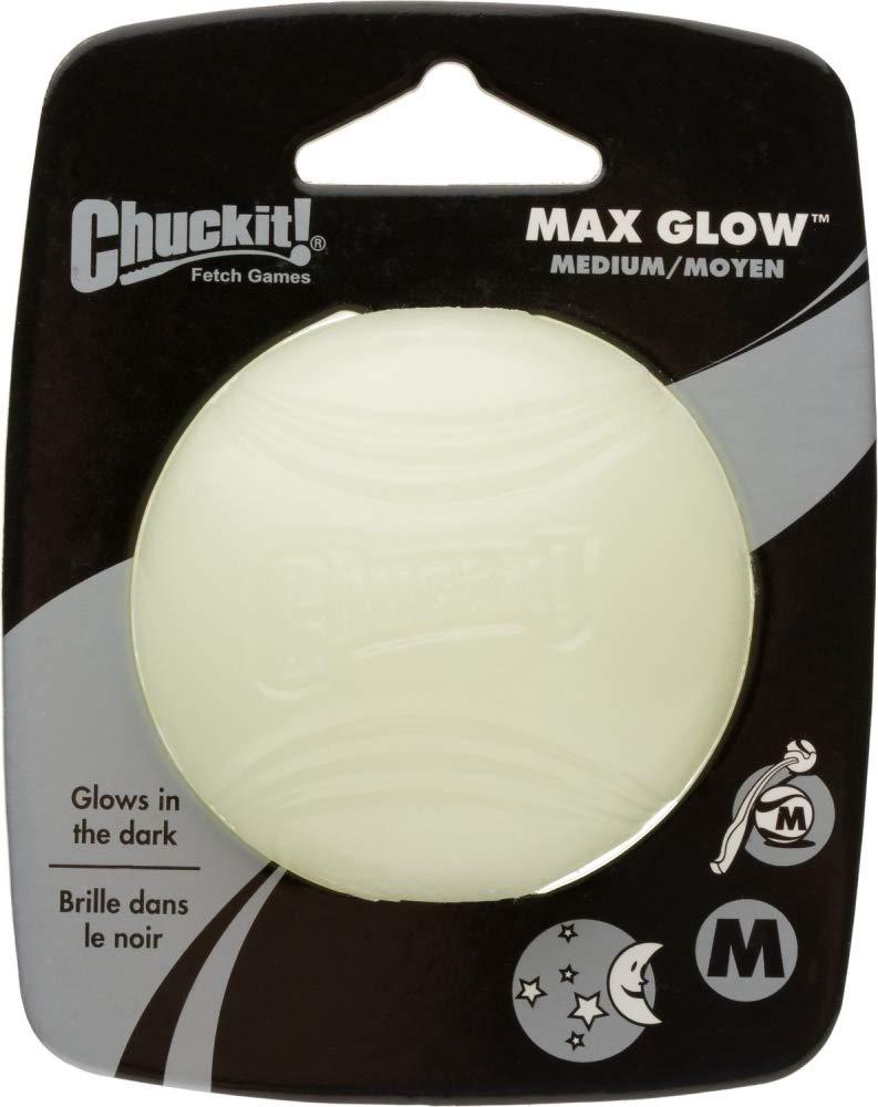 Chuckit! 32313 - Bola brillante, tamaño M, 6.5 cm: Amazon.es ...