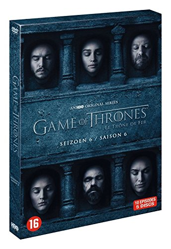 Game of Thrones - Die komplette sechste Staffel [Import mit Deutscher Sprache]