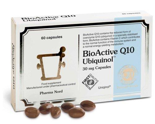 Pharma Nord Bio-Active Q10 Ubiquinol (Active QH) 30mg 60 Capsules