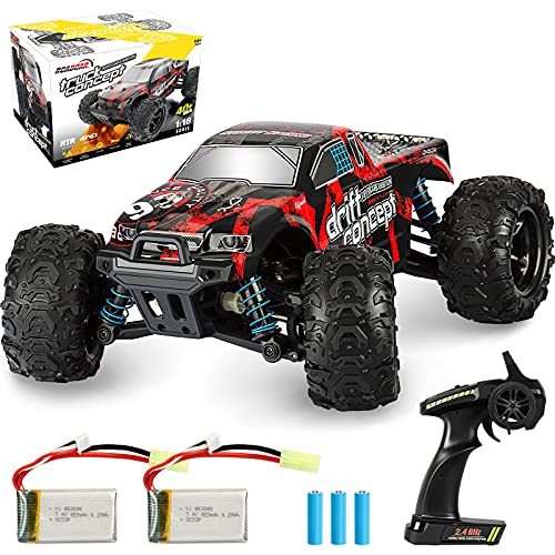 Rcabcar High Speed Remote Control Car for Kids Adults,4WD All Terrains Waterproof Drift Off-Road...