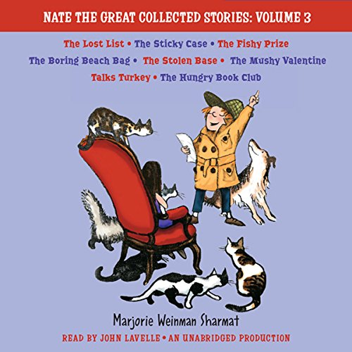 『Nate the Great Collected Stories: Volume 3』のカバーアート