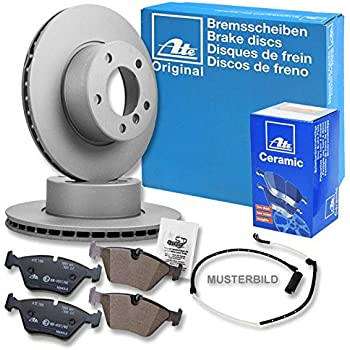 ATEBremsenset POWER DISC Bremsscheiben für CERAMIC Bremsbeläge Vorne u.a