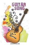 GUITAR SONG Songwriting Idea Book: A 6x9 Musician Songwriter