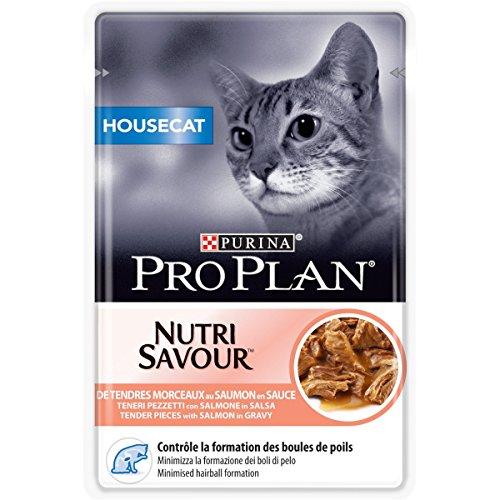 Pro Plan Cat Housecat Lachs, 24er Pack (24 x 85 g)
