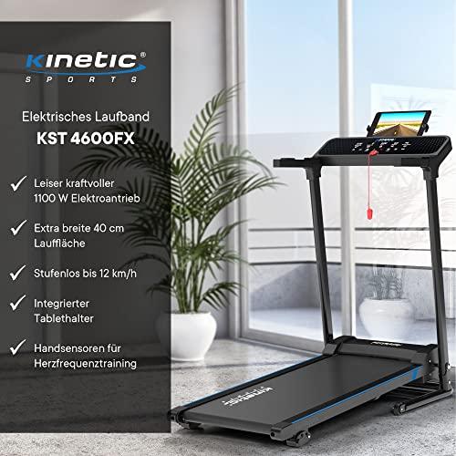 Kinetic Sports KST4600FX Laufband klappbar inkl. Pulsgurt - 2