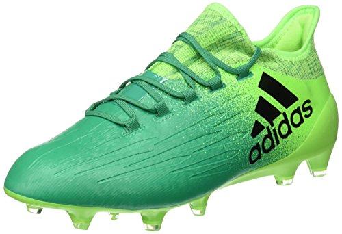 adidas X 16.1 FG, Scarpe da Calcio Uomo, Verde (Versol/Negbas/Verbas), 40 EU