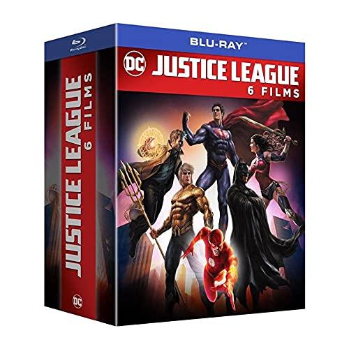 Justice League - 6 films: Dark : Apokolips War + La Nouvelle Frontière + Dark + Le Trône de l'Atlantide + Le paradoxe Flashpoint + Dieux et monstres [Francia] [Blu-ray]