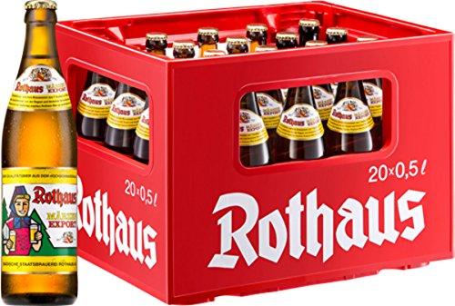 20 x Rothaus Märzen Export 0.5 L - 5.6% de alcohol Caja original