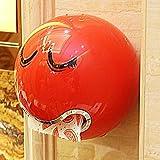 KINGKO Ball Shaped Nette Bad Wc Wasserdichte Toilettenpapier Box Rollenpapier Halter (Red)