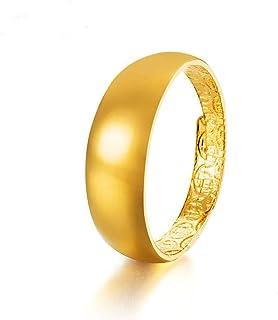 Lozse Anelli regolabili Placcato in oro rame anello elettrico aperto anello anti-allergia compleanno presenti Invia amico ...