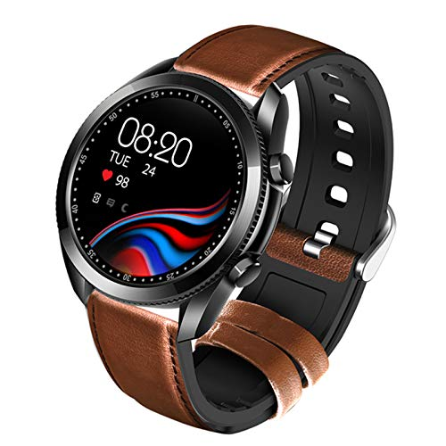 UM90 Smart Watch 2021 New Men's Bluetooth Watch Black Digital Reloj Impermeable para Android iOS,B