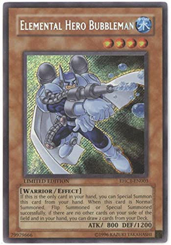 favorite Yu-Gi-Oh - Elemental Hero He supreme EHC1-EN003 Bubbleman