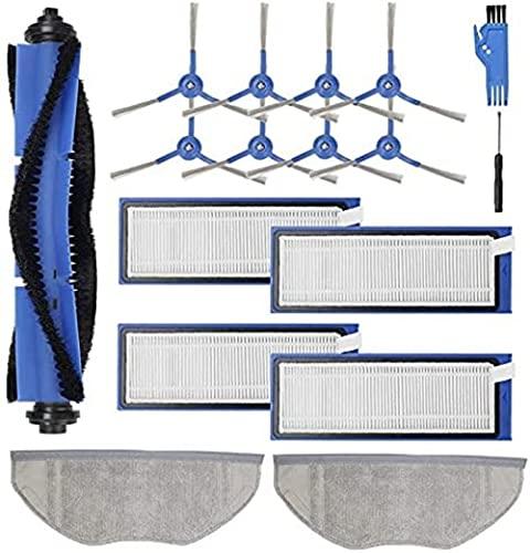 Lifeyz Accesorios para aspiradoras Kit de Piezas de Repuesto para aspiradora Robot híbrida Eufy RoboVac L70 (Color: Azul Gris) Exquisito (Color : Blue Gray)