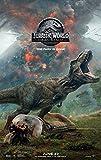 lunaprint Jurassic World Fallen Kingdom Movie Poster 70 X 45 cm