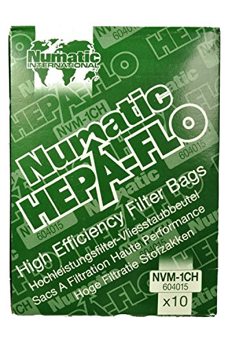 Numatic OEM Boîte de sacs pour aspirateur NVM - 1CH 604015