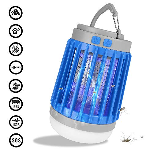 HOODIE 3 in 1 muggen Killer Tent Licht LED Lantaarn Zaklamp/Camping Lamp, Draagbare En IPX6 Anti Bug Insect Afstotend