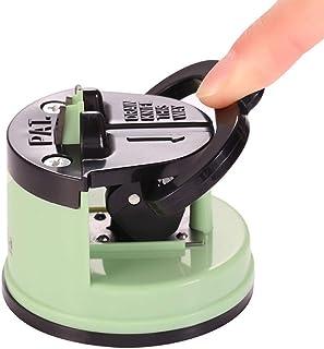 Afilador de cuchillos de cocina ABS+PVC, manual para afilar cuchillos, herramienta de acero de tungsteno, afilador de cuchillos rápido de un minuto, afilador manual para el hogar