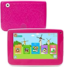 $51 » LLLCCORP 7 inch Kids Education Tablets Android 5.1 1280x800 IPS Display with Parental Control Software,Kid Proof Case,Screen Protector (Red)