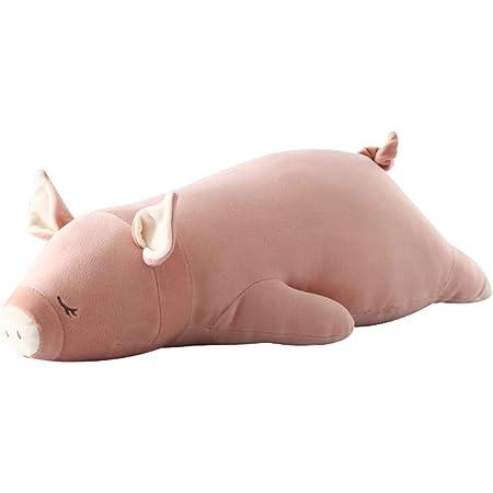セール YEATION 抱き枕 だきまくら 柔らかい 横向き寝 読書枕 安眠枕 洗える 枕 可愛い おもちゃ ぬいぐるみ 妊婦 男女兼用 幼児の贈り物 (豚, Mサイズ)