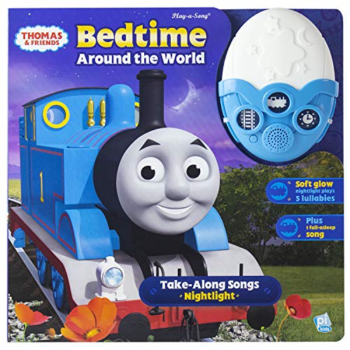 Thomas & Friends - Bedtime Around the World Take-Along Songs Nightlight - Play-a-Sound - PI Kids download ebooks PDF Books