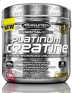 MuscleTech Platinum Creatine 80 Servings, 400g