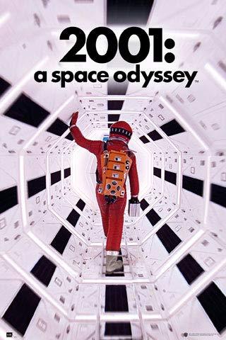 2001: A Space Odyssey - Tunnel - Poster - Grösse 61x91,5 cm
