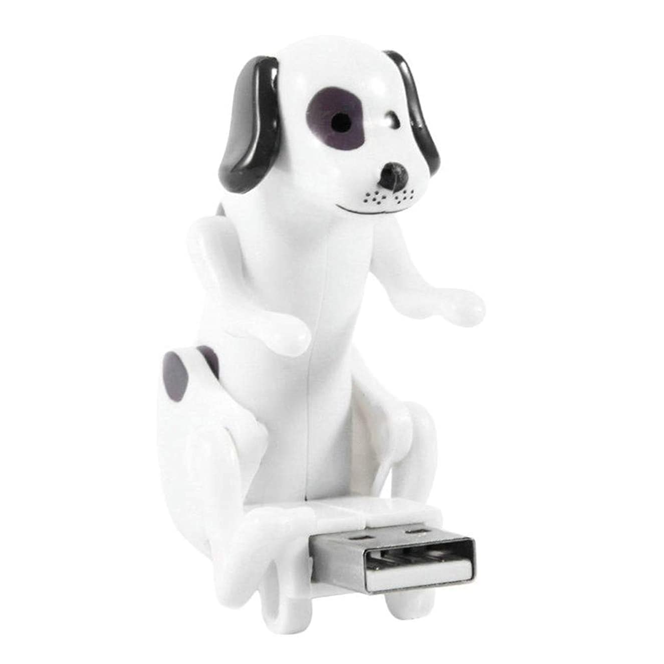 Blackcat Mini Funny Cute Dog USB Flash Drives for PC Laptop Adults Stress Relief Toy Gadgets (White)