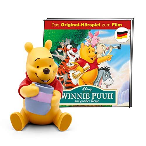 tonies Hörfigur für Toniebox, Disney – Winnie Puuh auf großer Reise, Original-Hörspiel zum Film, Hörspiel für Kinder ab 3 Jahren, Spielzeit ca. 46 Minuten