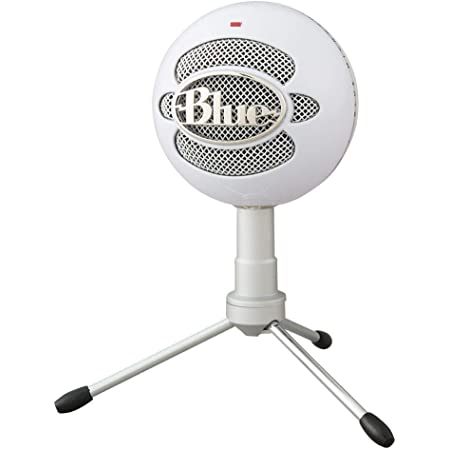 Blue Microphones Snowball iCE USB コンデンサー マイク White スノーボール アイス ホワイト BM200W PC MAC PS4 USB ストリーミング 配信 ストリーマー テレワーク web会議 国内正規品 2年間メーカー保証