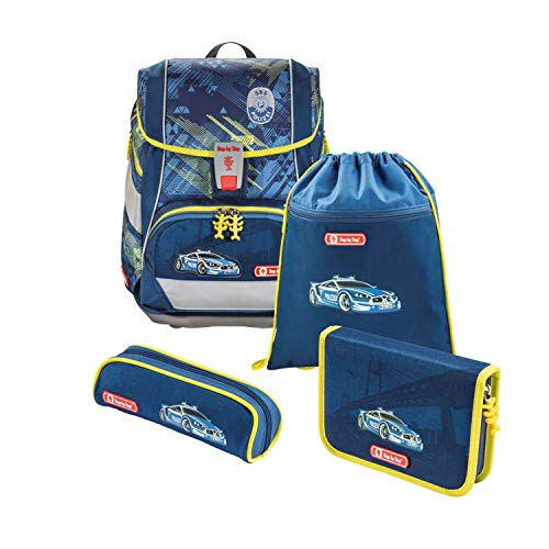 Step by Step - Set de mochila y accesorios escolares (4 piez