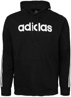 Men's 3-Stripe Logo Hoodie, Black, L