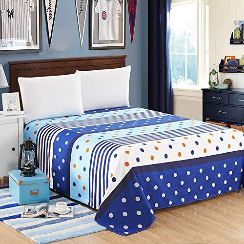 QIANBAOBAO - Set di biancheria da letto di un pezzo, in twill quattro stagioni, universale, per studenti, doppio-jane, 230 x 250 cm