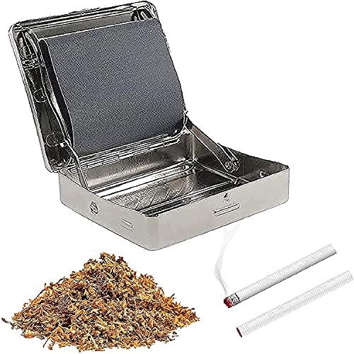 2021 Nuovo regalo automatico per Rolling Box per uomini e donne - Rolling automatico per sigarette automatico in metallo portatile 78mm