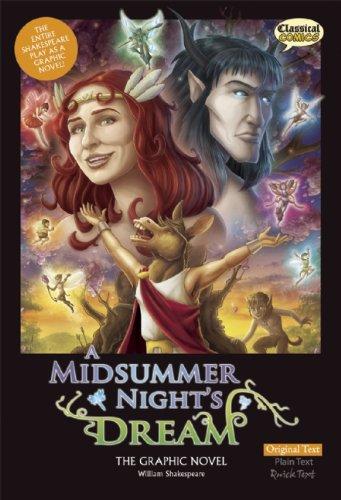 A Midsummer Night's Dream The Graphic Novel: Original Text (Shakespeare Range)