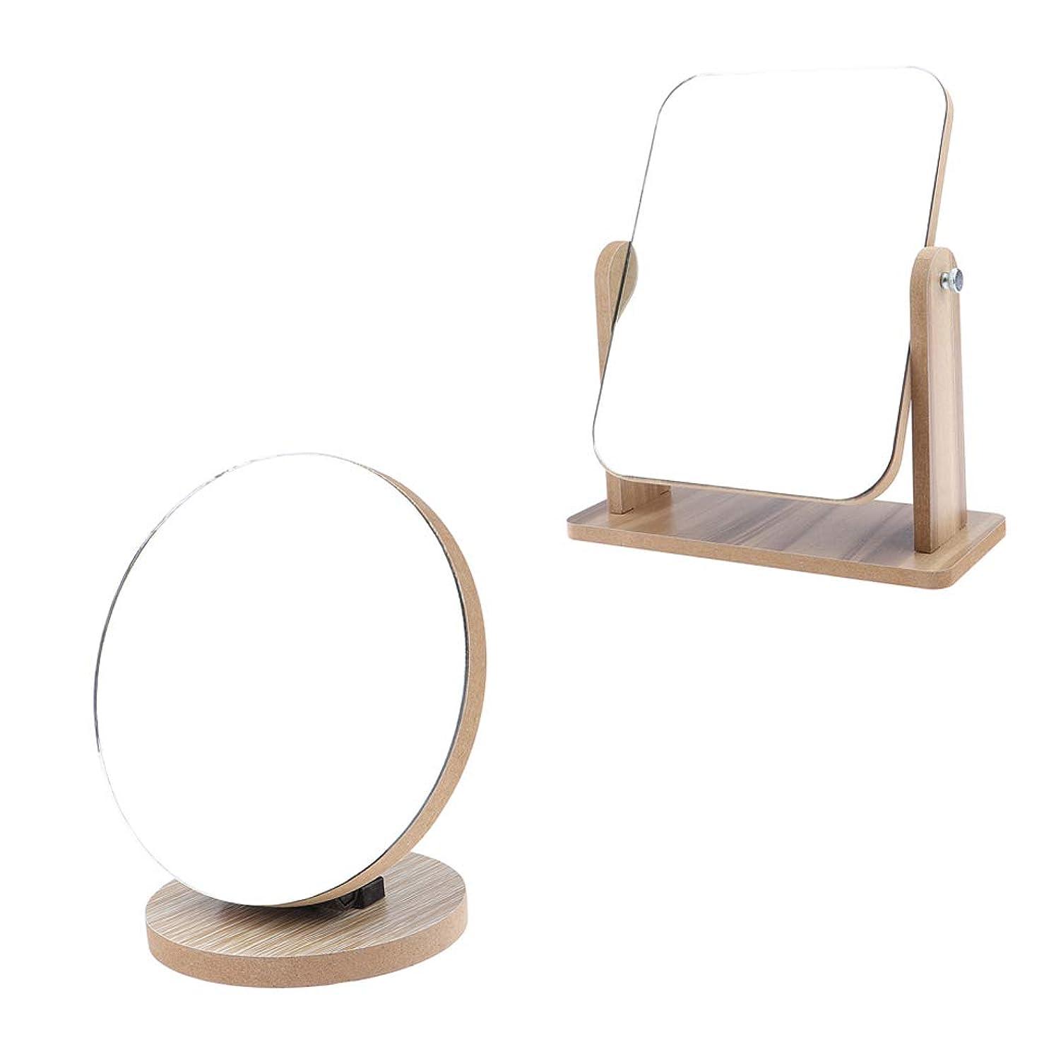Toygogo 化粧鏡 スタンド 卓上 化粧ミラー 化粧 鏡 折り畳み デスクトップ化粧鏡 卓上ミラー