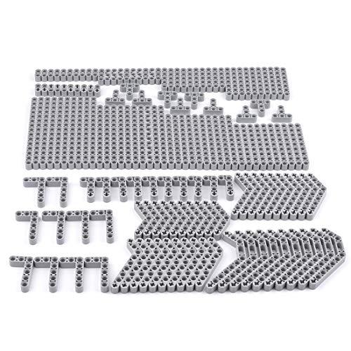 LICI Piezas de repuesto técnicas, piezas técnicas, piezas de bricolaje, piezas perforadas, piezas compatibles con Lego.