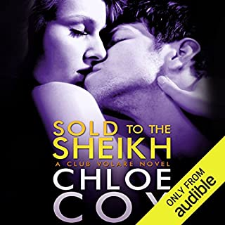 Sold to the Sheikh audiobook cover art