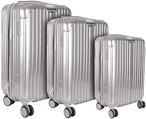 CMP Paris New York - Juego de 3 maletas (varios tamaños), color gris