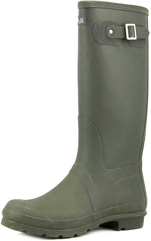 Corkys Splash Womens Rubber Rain Boots Black