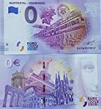 0-Euro-Schein Wuppertal Vohwinkel (2020/2) Schwebebahn Souvenir Null Euro € Sammler