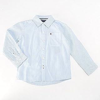 トミーヒルフィガー(キッズ)(TOMMY) ストライプコットンシャツ