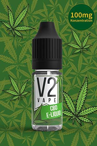 CBD Liquid Shot 99,2% Reinheit Geschmacksneutral 0mg Nikotin - E-Liquid für E-Zigarette & E-Shisha 100mg