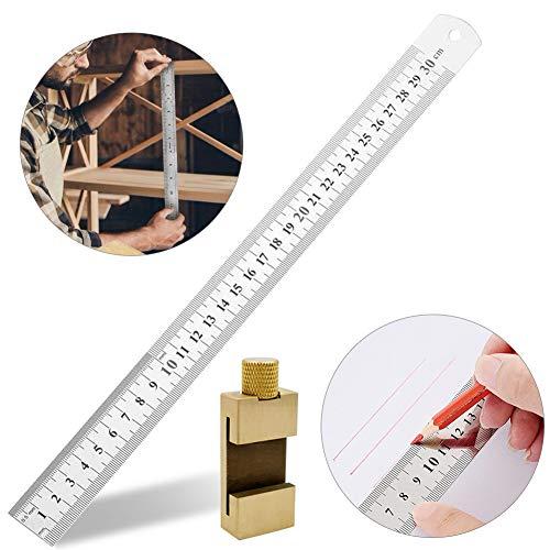 streichmaß linealanschlag anreisswerkzeug,paralleles lineal für holzbearbeitung,lineal edelstahl,anschlaglineal,anreisswerkzeug für holz,stahllineal positionierblock