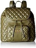 Love Moschino Borsa Quilted Nappa Pu, Women's Backpack Handbag, Green (Verde), 12x30x41 cm (B x H T)