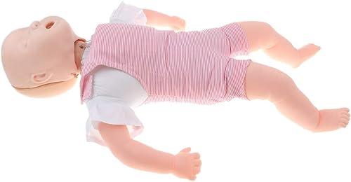Homyl Neugeborene Baby Puppe übungsmodell Training für Heimlich Manauver und CPR Lernen